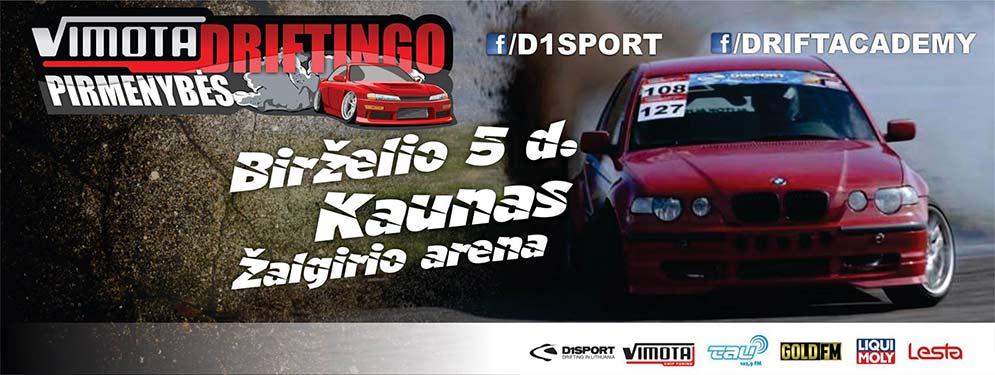 Vimota Driftingo Pirmenybės - 2 Etapas / Kaunas Žalgirio arena