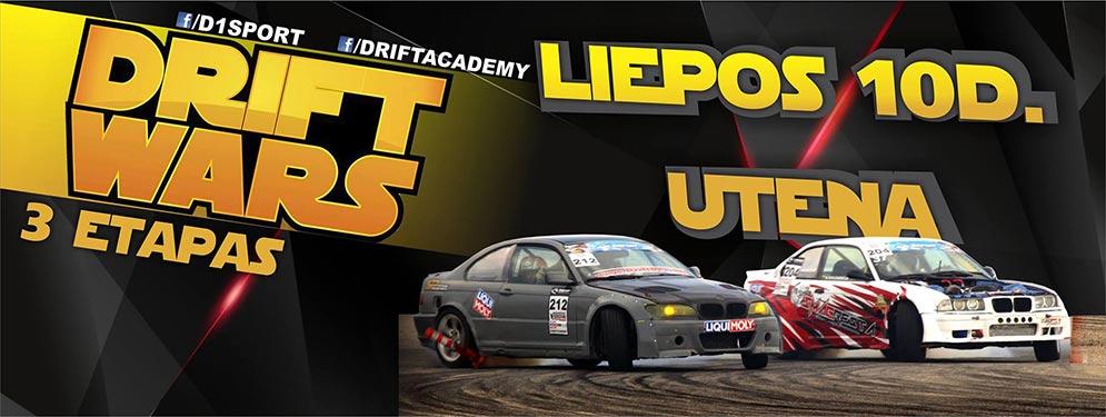 D1Sport Drift Wars 3 etapas / UTENA