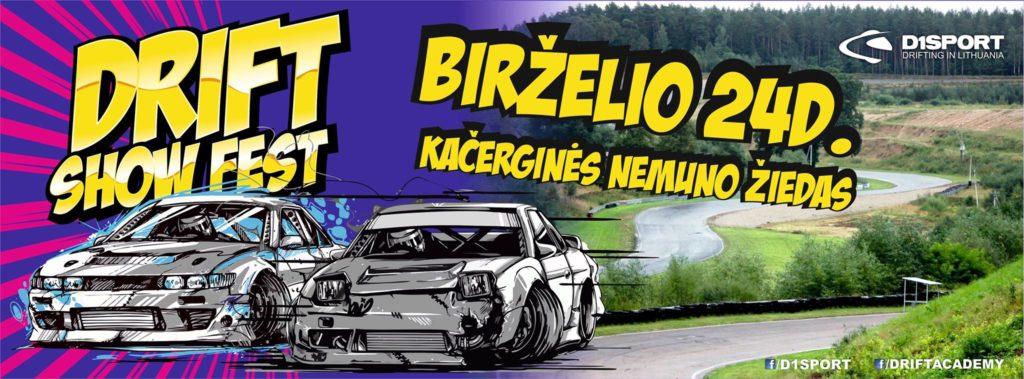 Drift Show Fest / Kačerginė Nemuno Žiedas